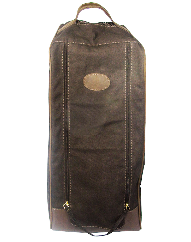 Carry your muddy wellies in style with this boot bag from UK company Teales