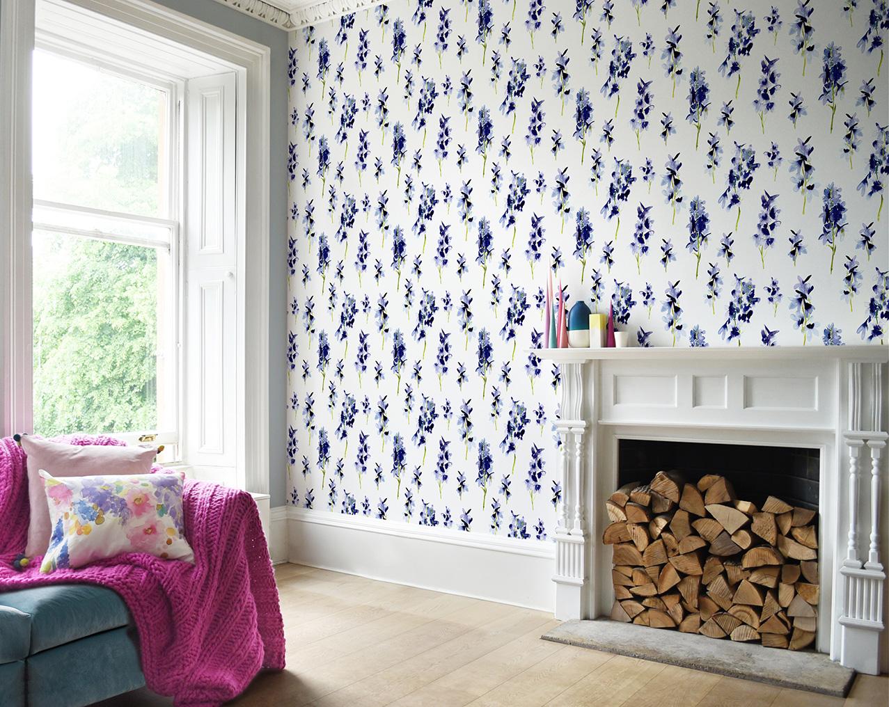 Delphinium wallpaper