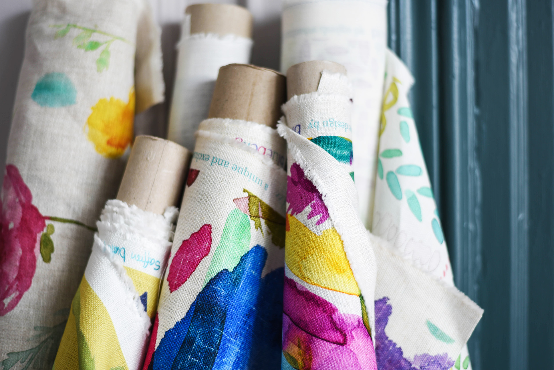 Wallpaper rolls at bluebellgray