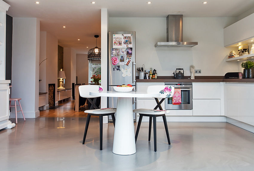 Clients tend to choose fairly neutral colours that go with everything but don't forget you can have