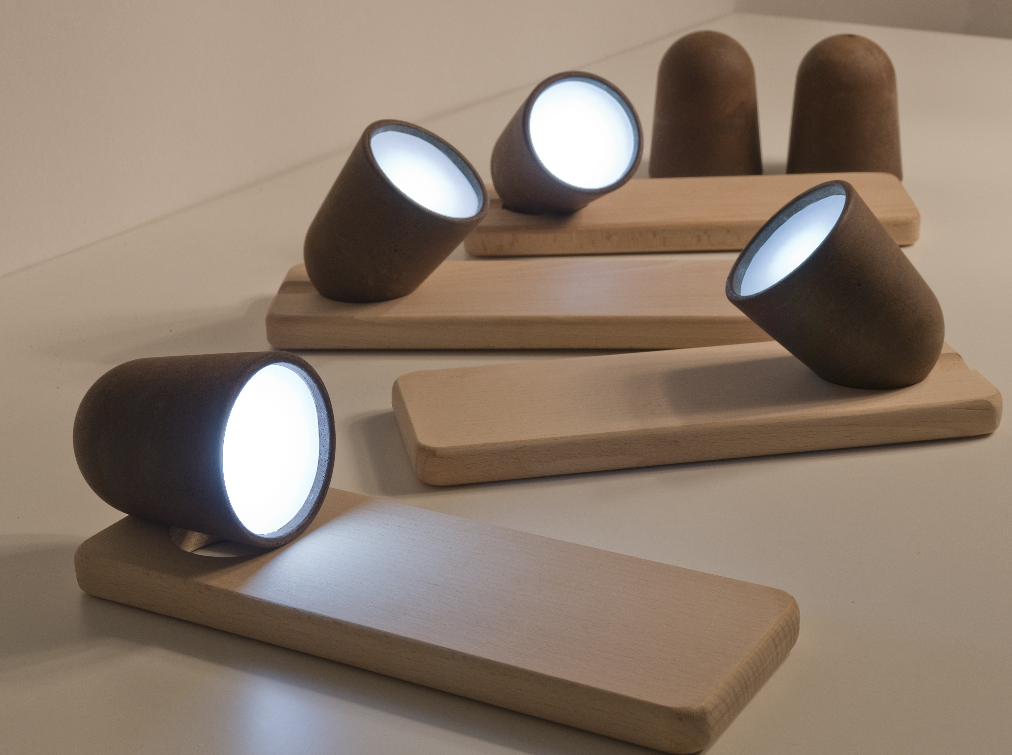 Decafe portable lamps