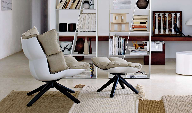 Big Husk chair by Patricia Urquiola for B+B Italia, from Chaplins
