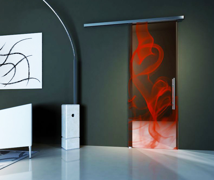 Fashion glass door from OTC Doors. www.otcdoors.com