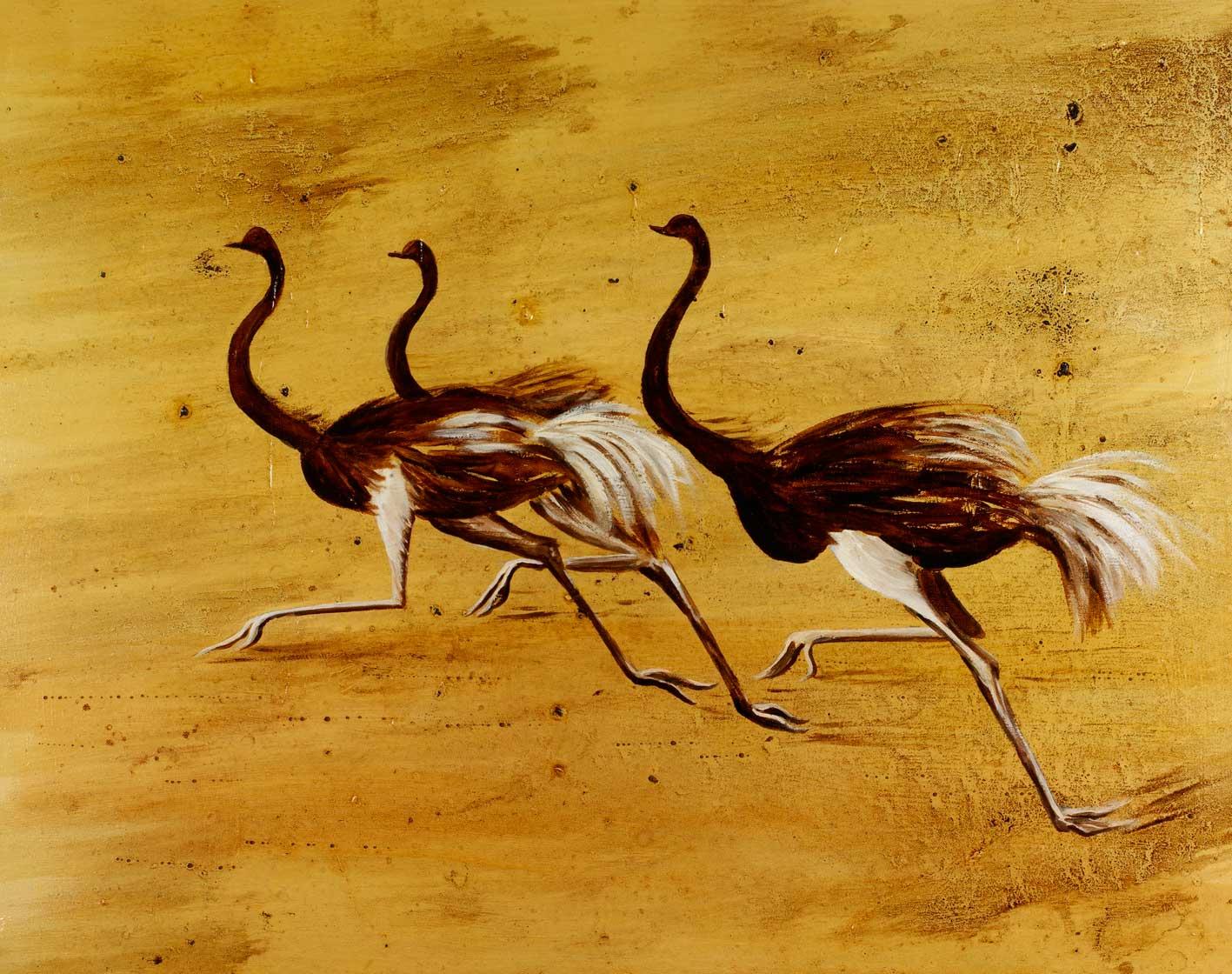 Full Pelt, 25x30 inches, by Sarah Elder, award-winning wildlife artist