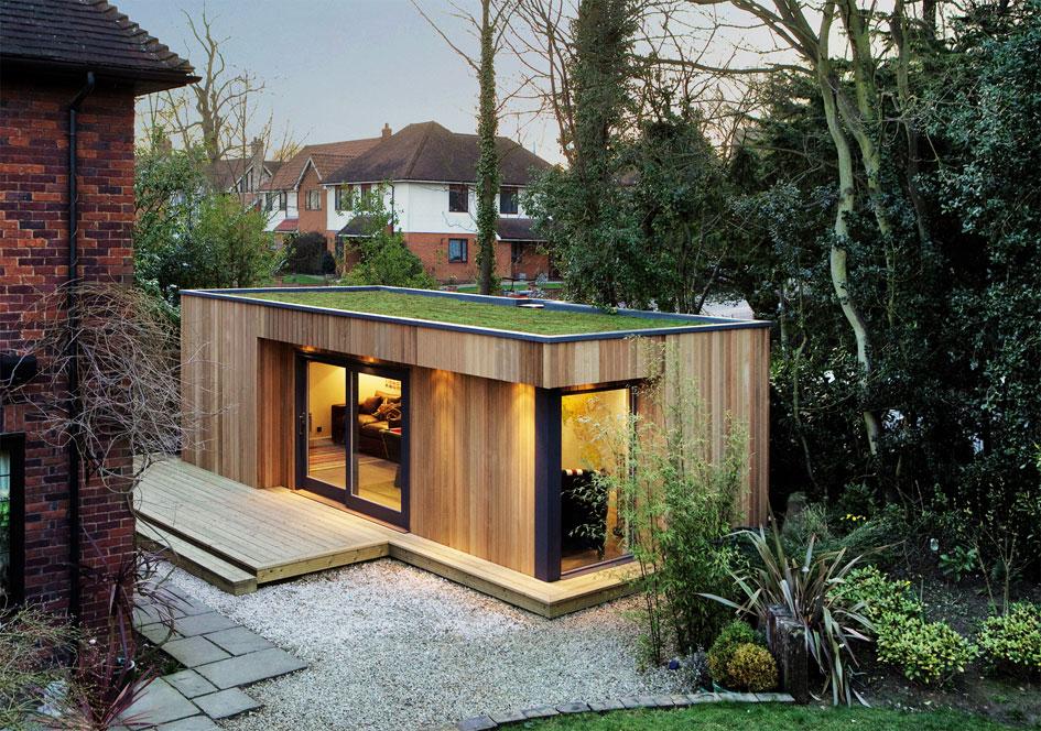 Westbury Garden Rooms made this eco room-in-red-cedar