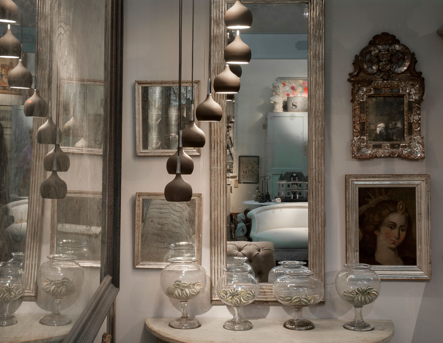 Antiques from Maison Artefact in Fulham, London