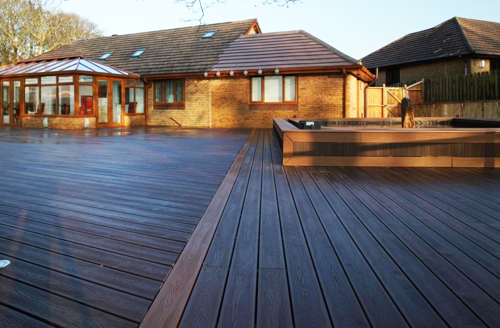 Trex Contour is great for that seamless indoor to outdoor experience