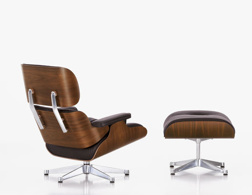 The Eames Lounge Chair from Vitra simply has to be upholstered in fine quality leather www.vitra.com