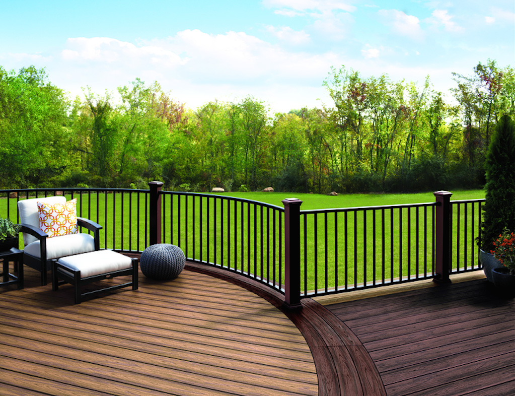 Trex Decking is eco friendly