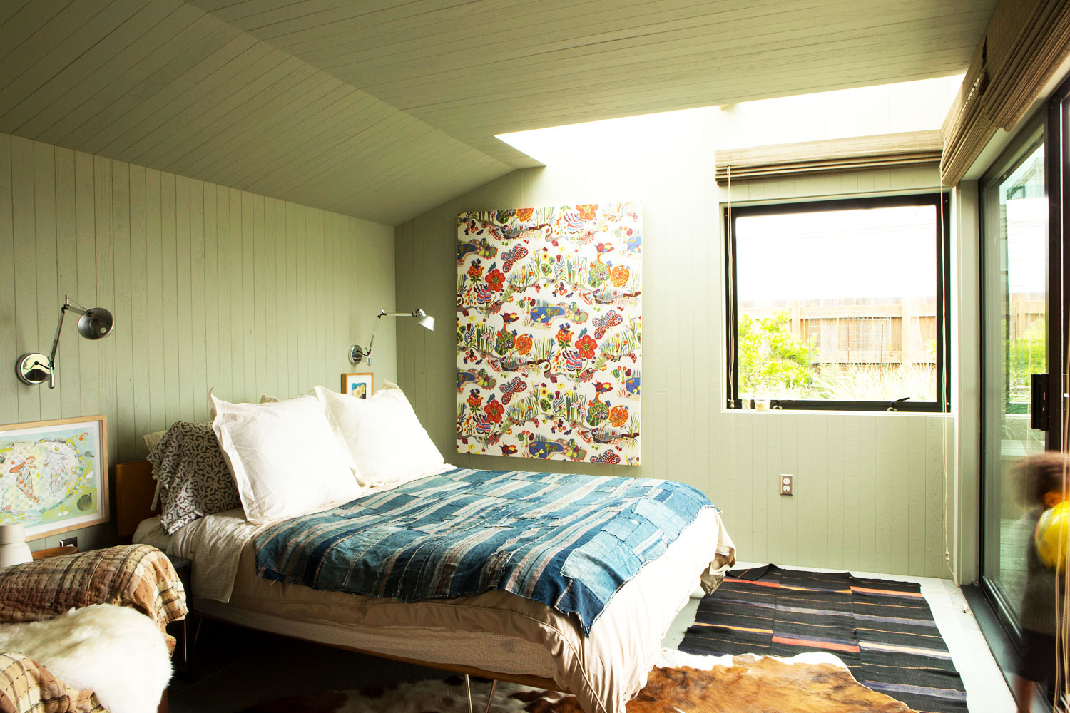 Wallpaper by Saland give the rooms great character