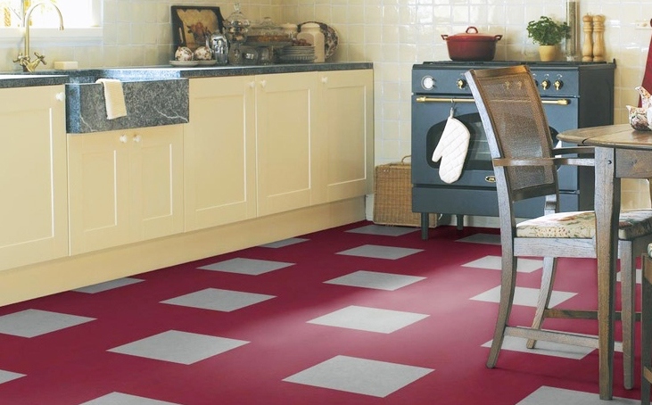Marmoleum is a very sustainable flooring material