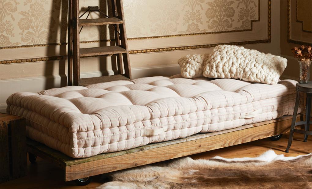 Pure luxury, the Nolton handmade organic mattress from Abaca Organic