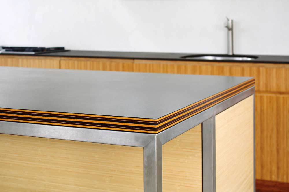 Richlite is available with a choice of eyecatching edges