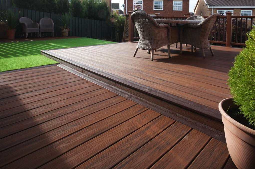 It's fun to build decks and structures outside if you have the space
