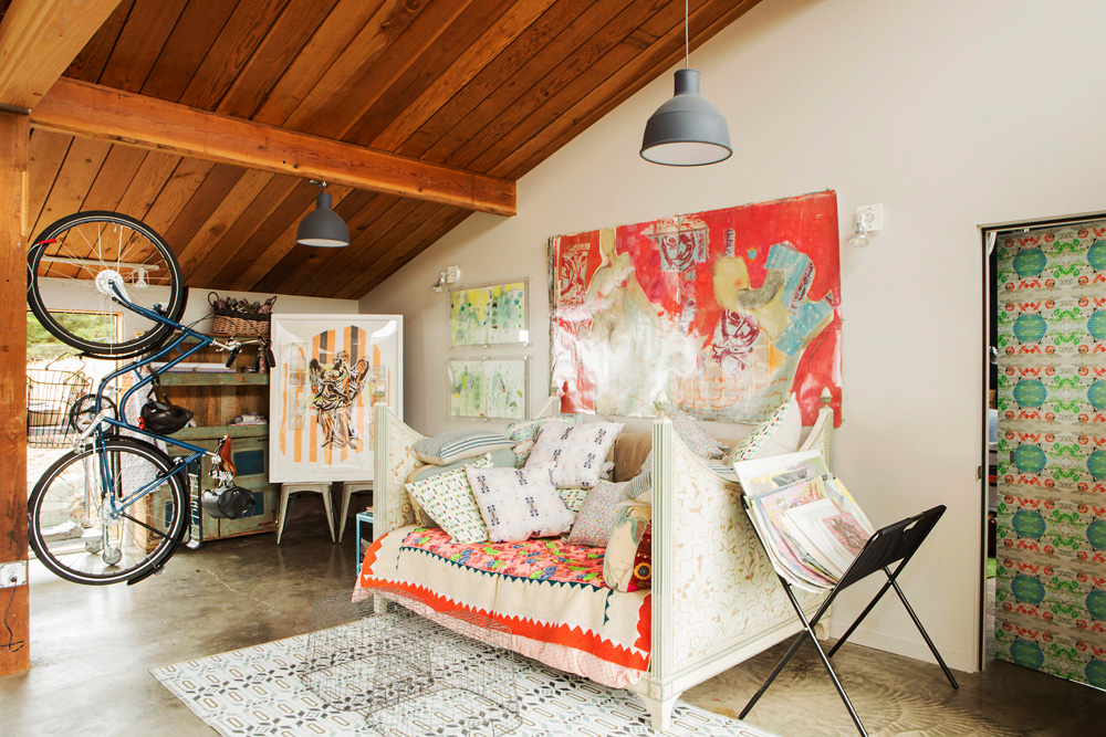 Utility area in Bonnie Saland's Oceanside house