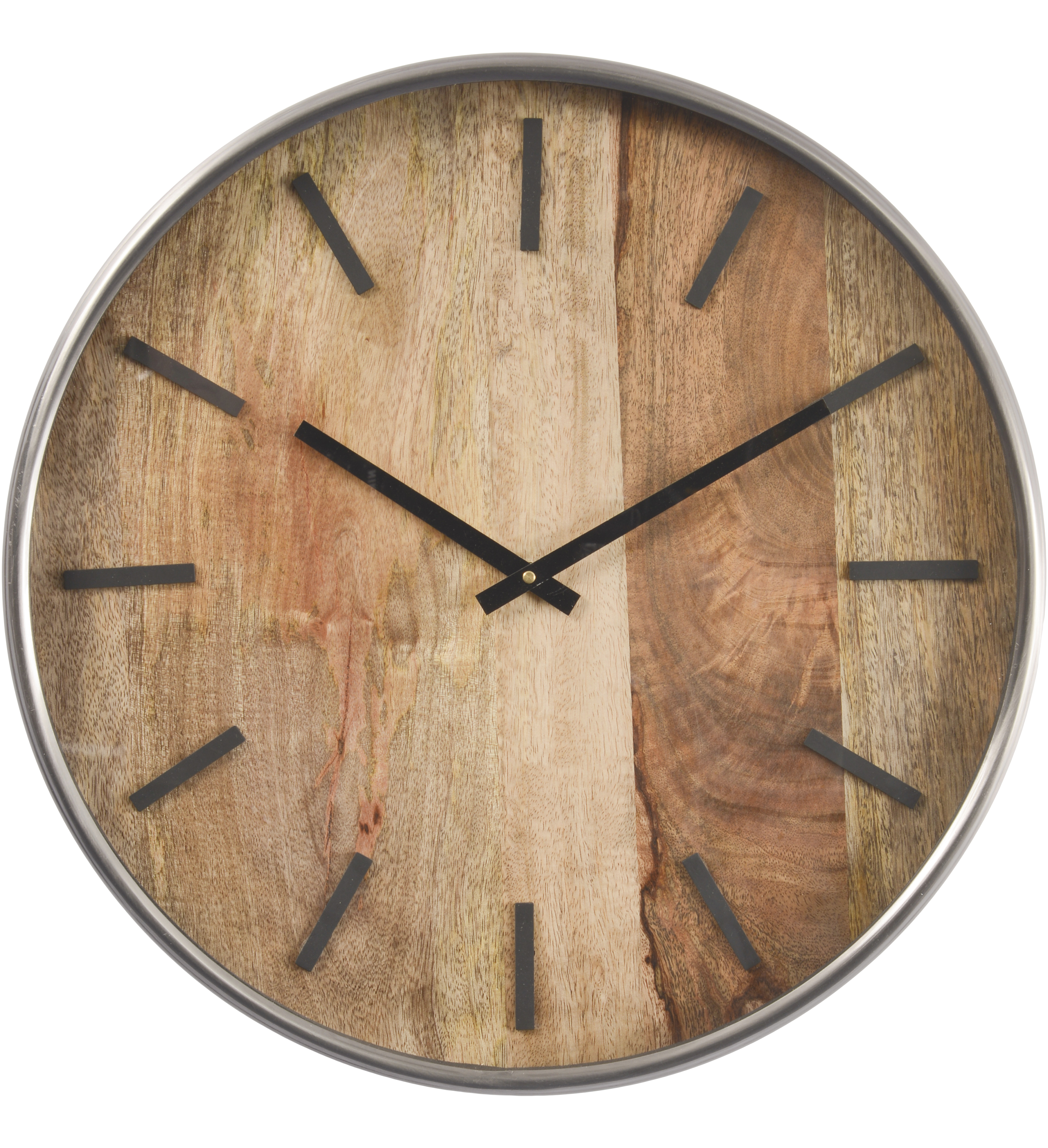 Forester wood and steel wall clock, £66 at Artisanti