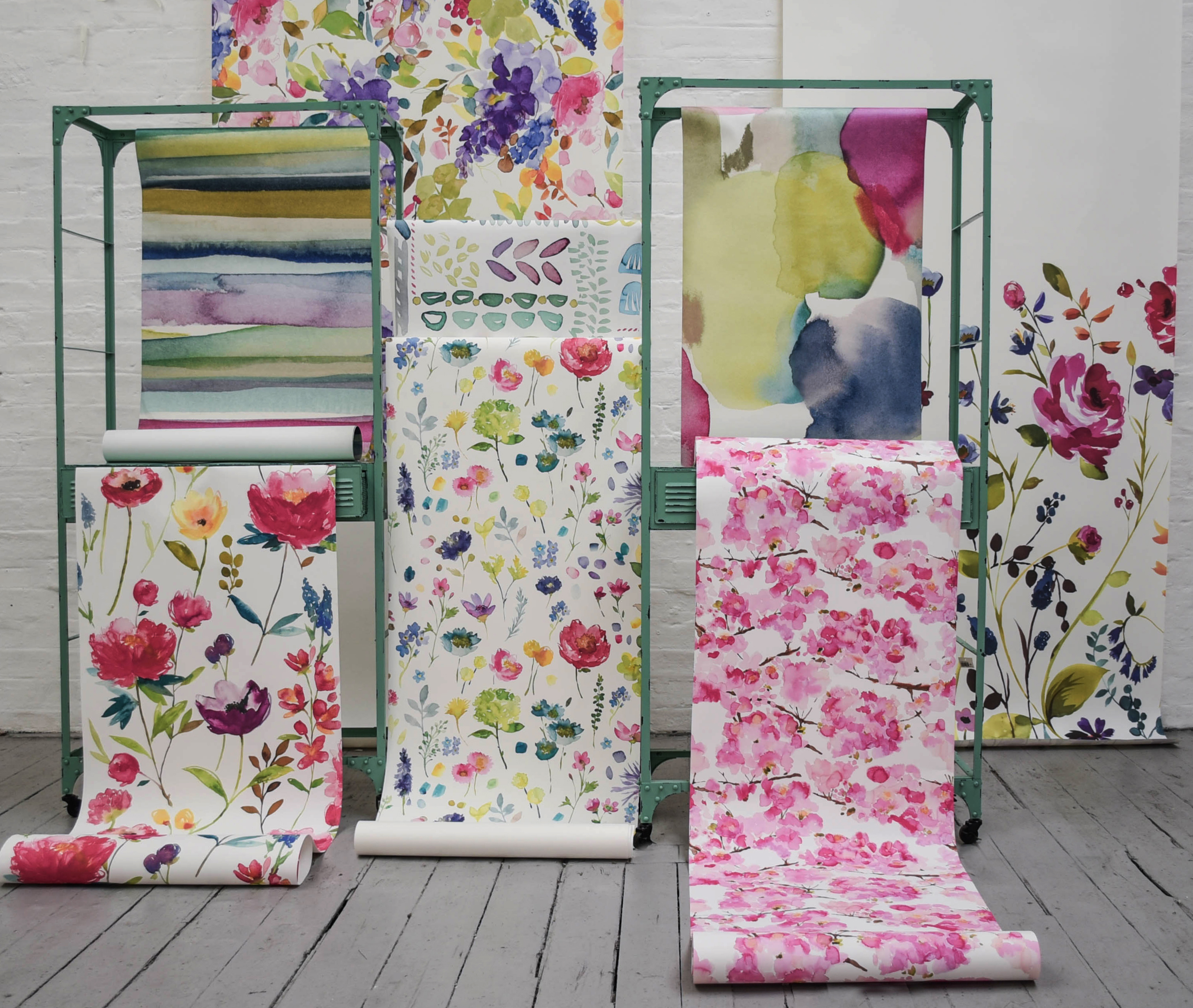 bluebellgray wallpapers galore - perfect for a feature wall