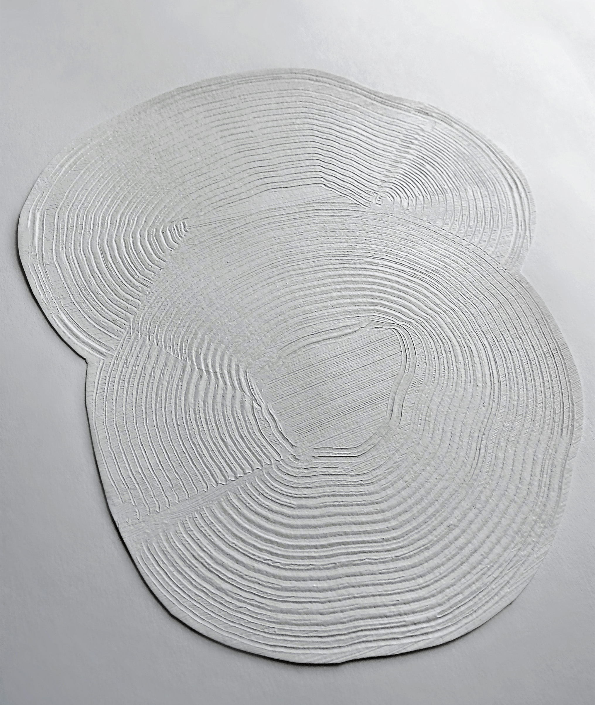 Zen rug by Emily Broom is made from recycled PET yarn