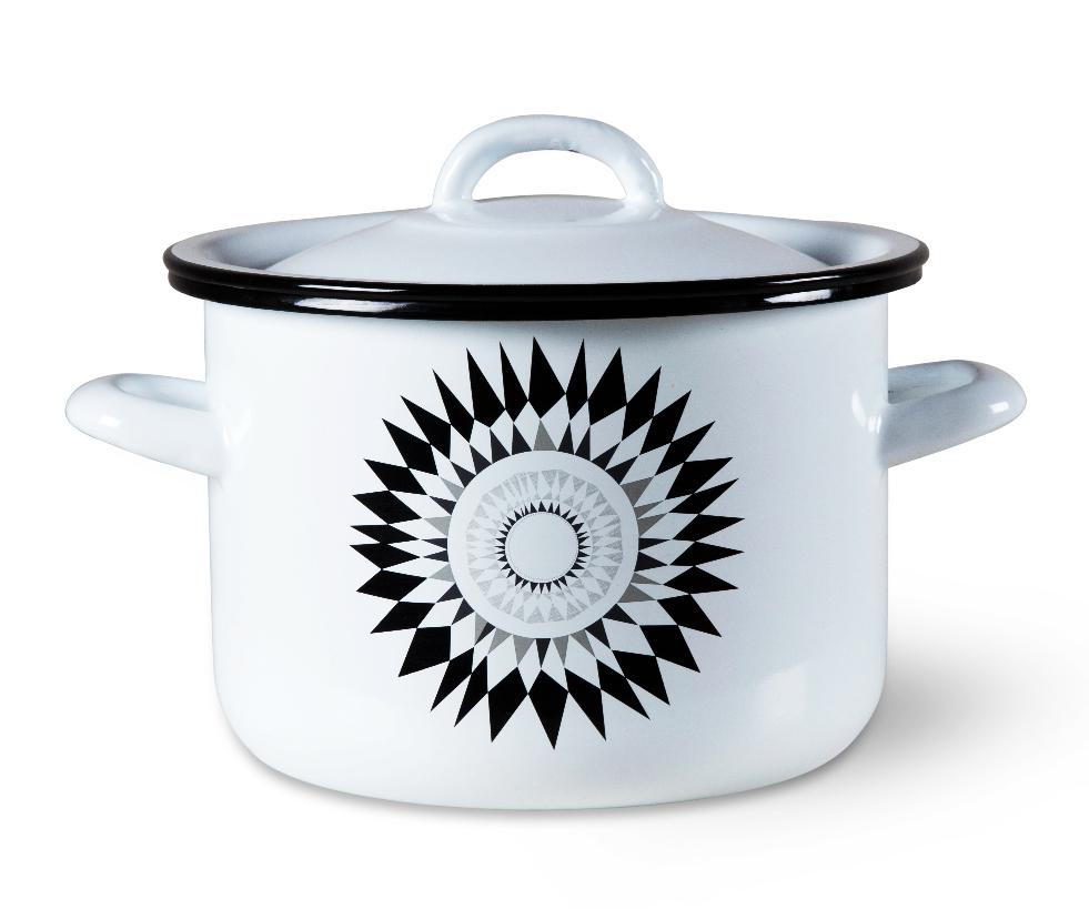 Midnattsol 3.5L hand-enamelled steel casserole pot by Scandinavian company Isak, £25. www.isak.co.uk