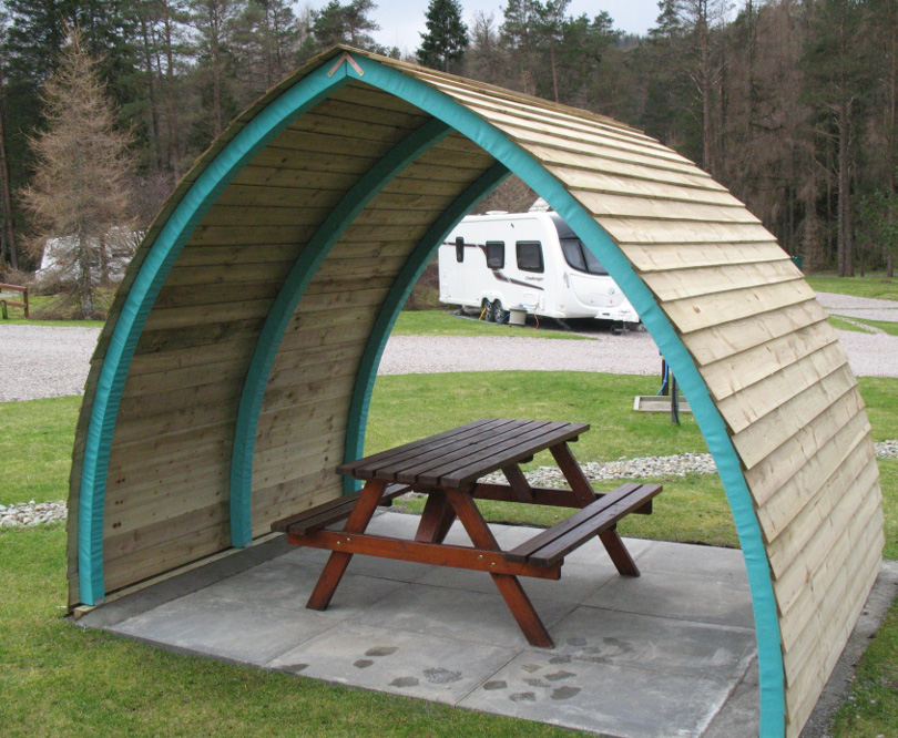 Alfresco Arch, ideal for sitting under when it's wet but not freezing... around £980. www.alfrescoar