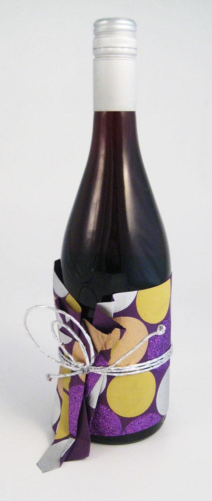 Cummerbunds for bottles