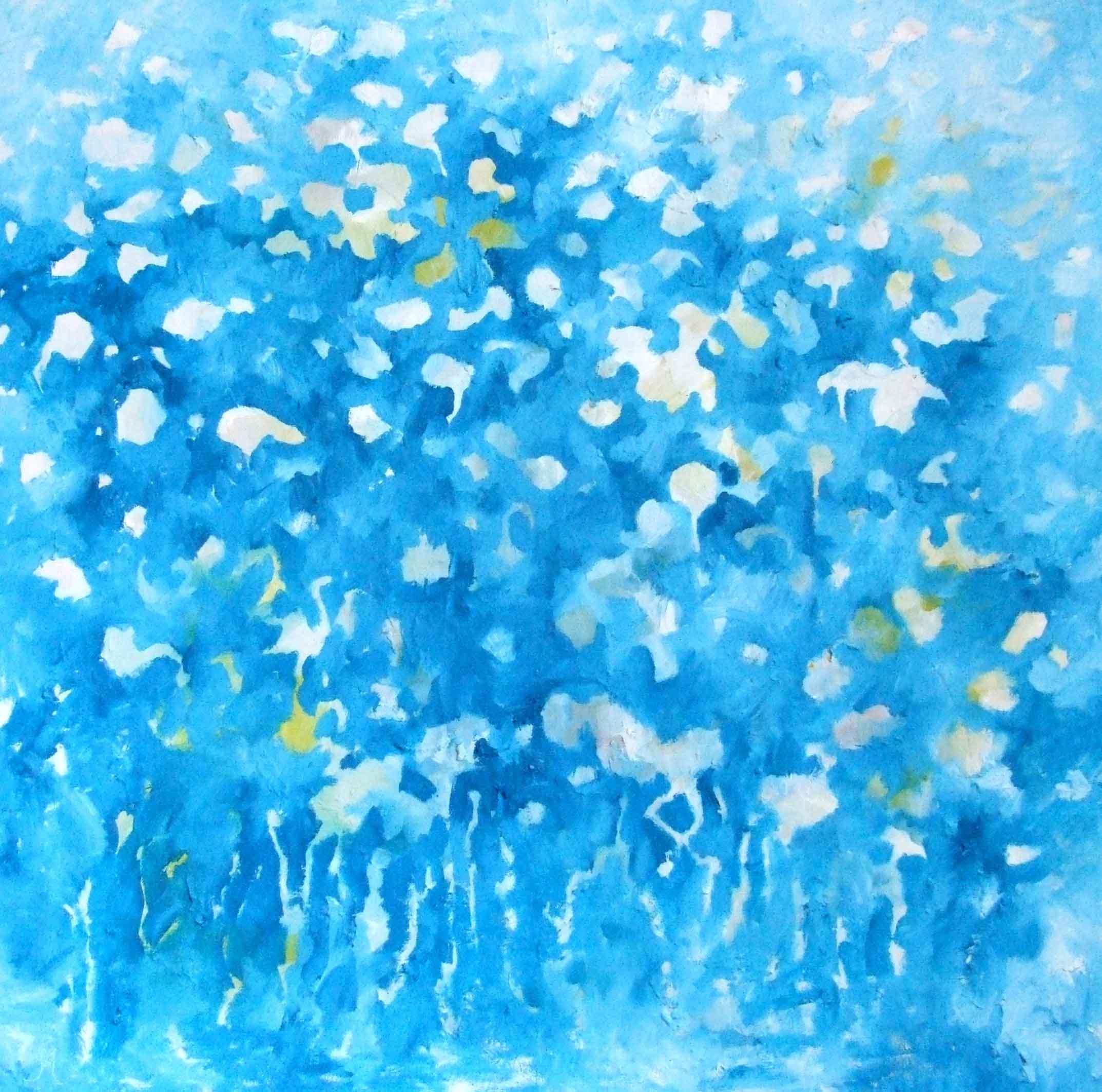 Star Struck, 1mx1m, oil on canvas
