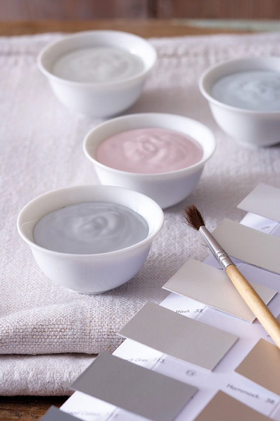 Swatches from the highly successful Little Greene brand