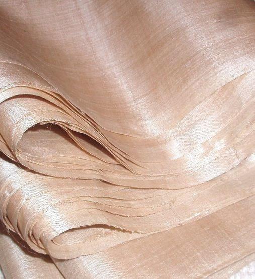 Undyed Ahimsa peace silk from Fabric Treasury at www.etsy.com