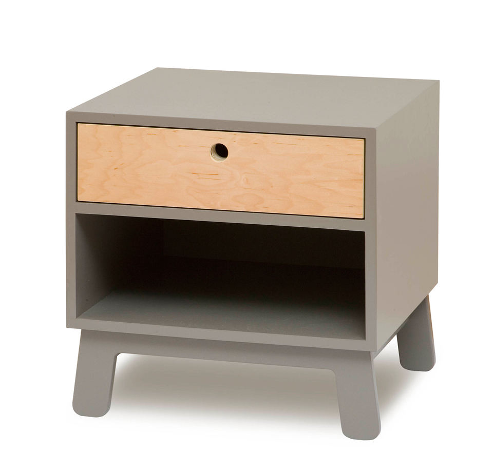 Sparrow bedside table by US brand Oeuf, from www.naturalmat.co.uk