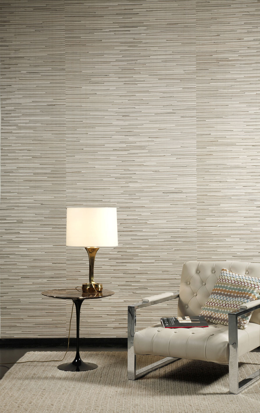 Natural Seagrass wall covering from Urbane Living, around £26.50 per m2. www.urbaneliving.co.uk