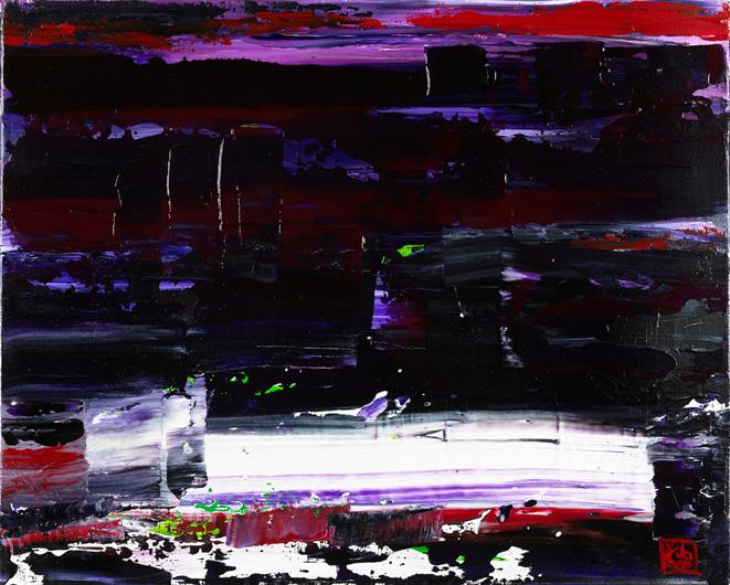 Abstract 034. Acrylic on canvas
