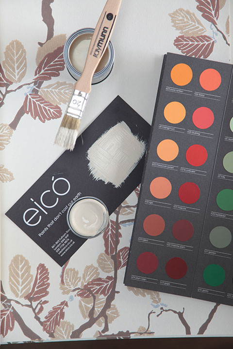 Eicó paints are made in a carbon neutral plant in Iceland that is powered using geothermal energy