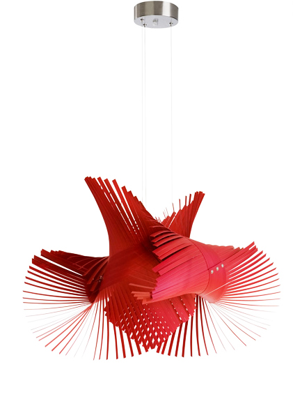 Another long time best seller, the very pretty Mikado pendant by Miguel Herranz