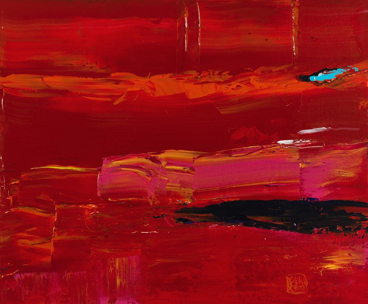 Abstract 17. Acrylic