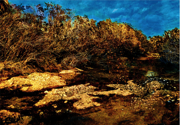 Landscape by French fine art photographer Jean-Claude Laffitte, who lives in Morocco