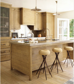 Pita fibre stools by Swedish interior designer Lars Bolander, who's based in New York