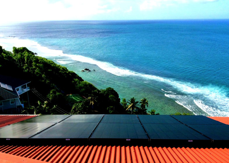 Not surprisingly, many hotels and businesses have solar panels