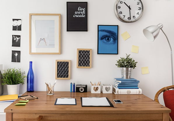 A decluttered space will make you feel better for sure