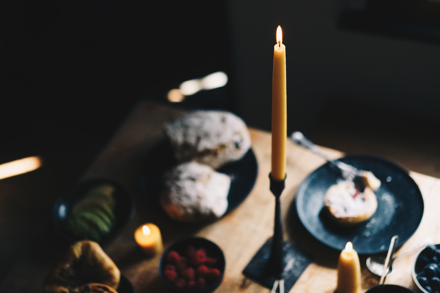 Skar candles are made from organic beeswax