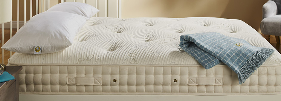 North Wales based Baavet offers wool filled mattresses, with no synthetic materials or foam.