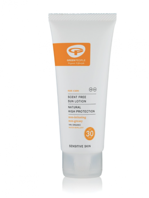 Green People sunscreens are less harmful to coral and fish. £22 for 200ml.