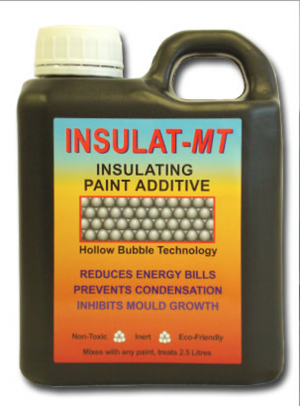 Insulat-MT by Thermilate is powdered ceramic beads which you add to paint to make it more insulating