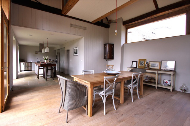A barn restoration project Luxton has completed. Low energy properties are what Luxton is about