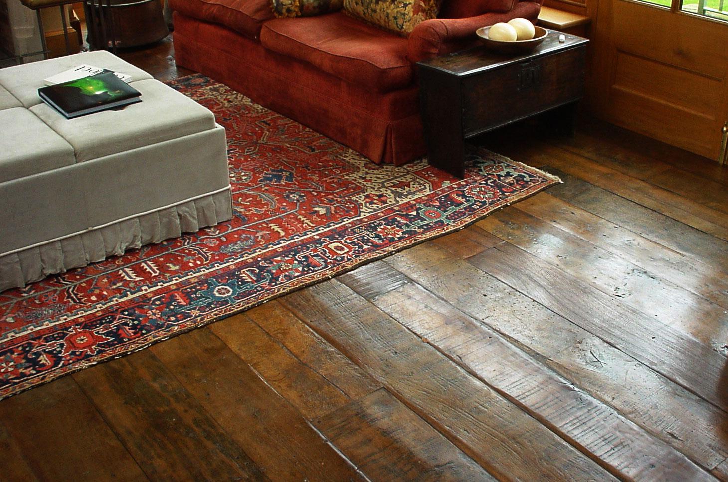 Antique hardwood wideboards from David Gunton Hardwood Floors, from £120 m2