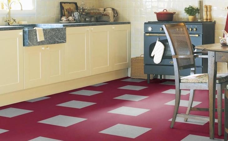 Consider flooring too when designing your kitchen...