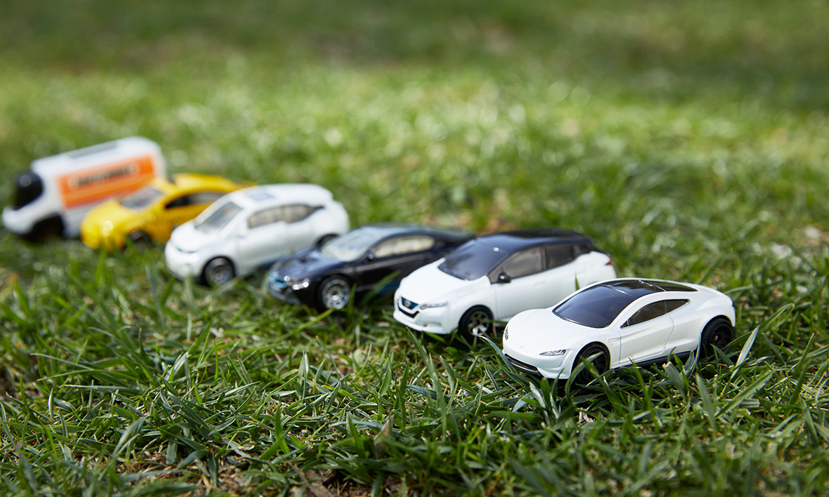 Matchbox cars have gone all sustainable