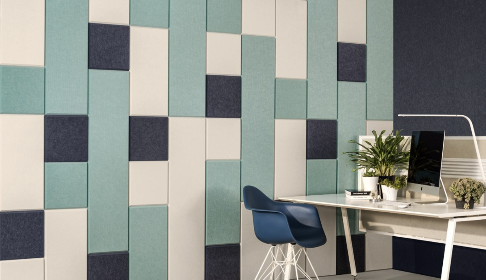 Have some fun with ECHOPANEL acoustic panel tiles
