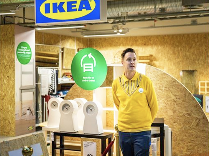 IKEA has opened its first ever second hand store in Sweden