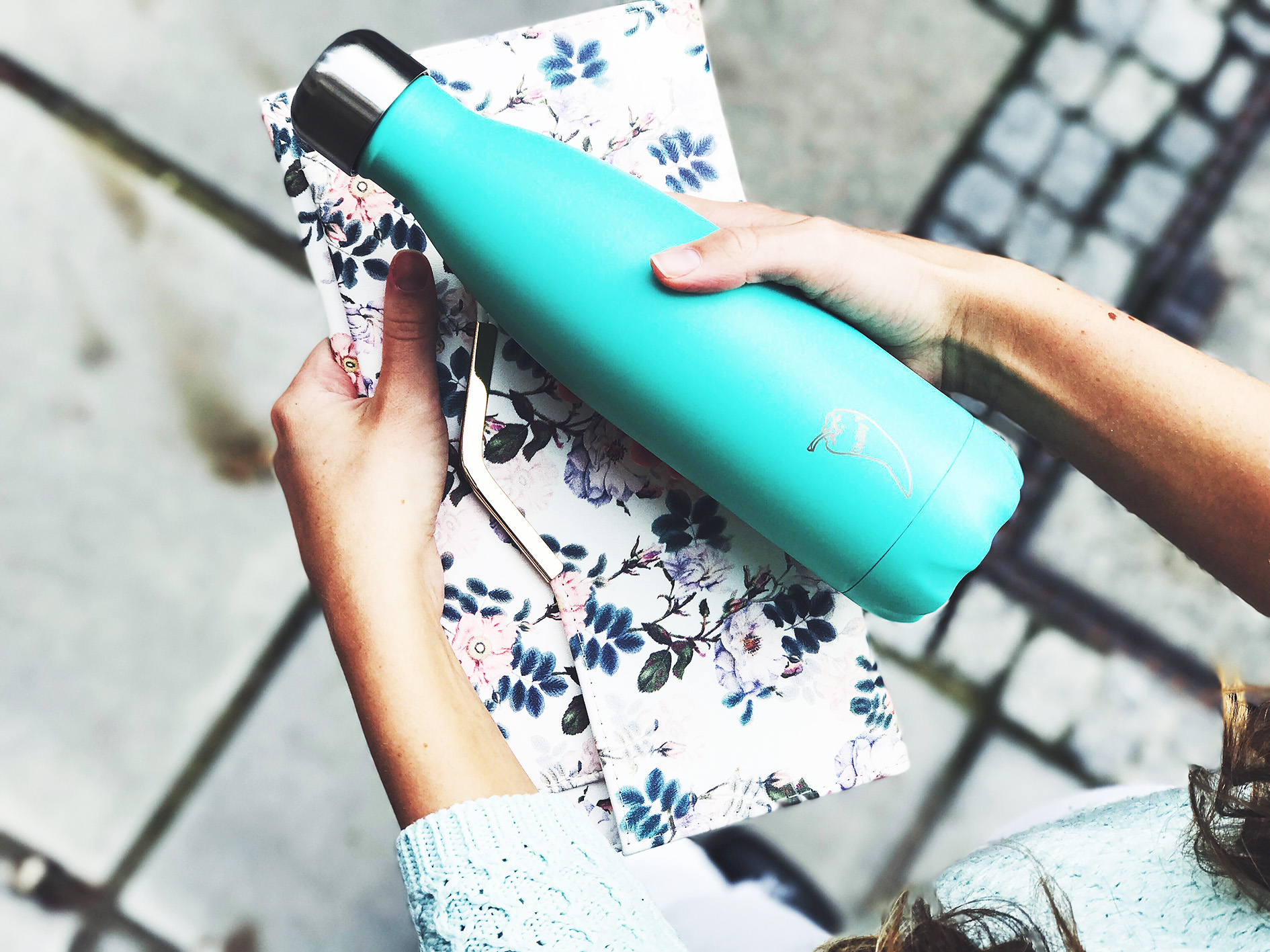 Chilly's bottles are made from high grade stainless steel and keep water cold for 24 hours. From £15