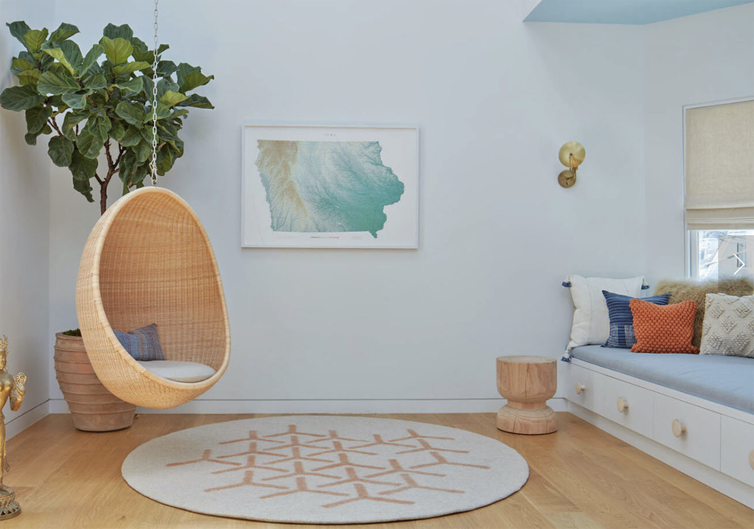 Peace Industry specialises in modern wool felt rugs